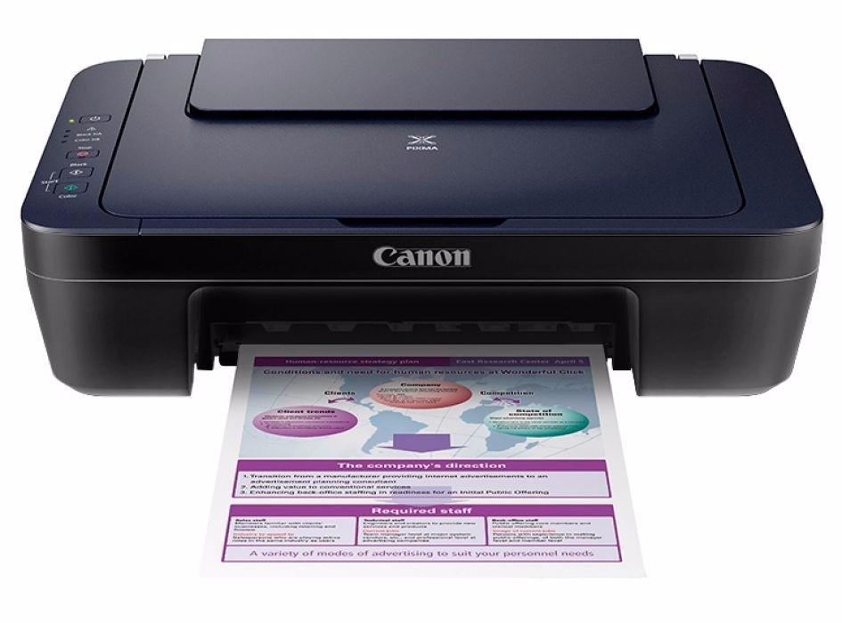 Impresora Canon E402 Multifuncional Escaner Imprime Copia